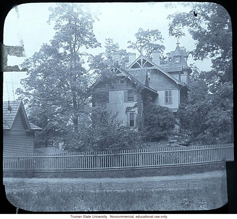 Director's residence, The Biologocial Laboratory and Carnegie Station for Experimental Evolution, Cold Spring Harbor, N.Y.