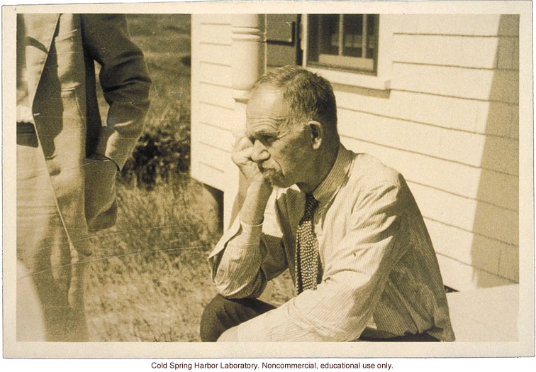Charles B. Davenport, Director of Biological Laboratory, Carnegie Department of Genetics and Eugenics Record Office, Cold Spring Harbor (1)