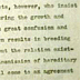 Gallery 9: Letter including discussion of Wilson's work on sex determination.