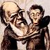 Gallery 12: Charles Darwin caricature